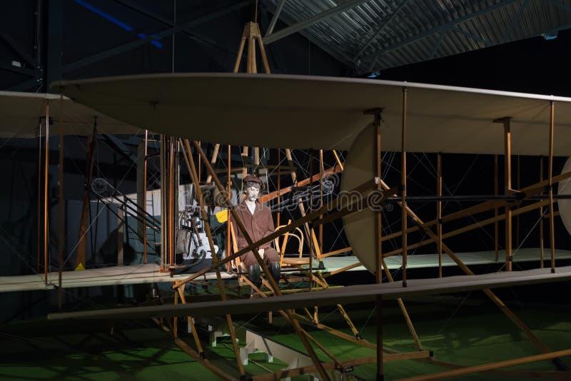 Aeroplano de la araña de la vuelta de Fokker imagen de archivo