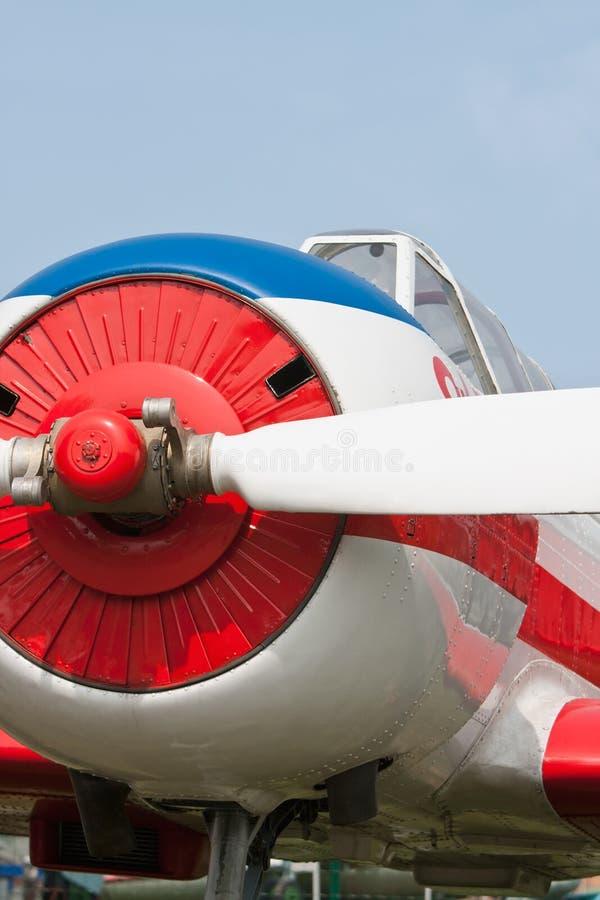 Aeroplano de la reconstrucción imágenes de archivo libres de regalías