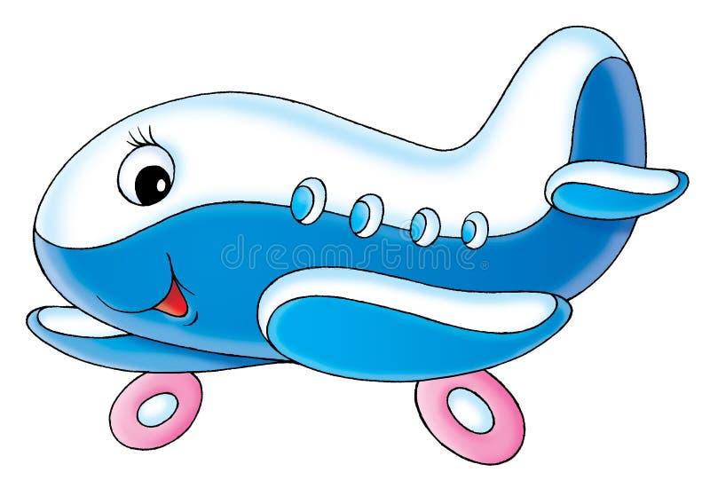 Aeroplano del bebé stock de ilustración