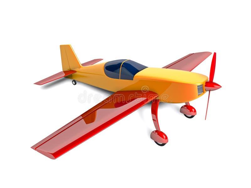 Aeroplano del deporte stock de ilustración