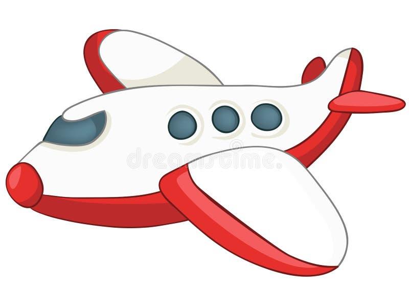 Aeroplano del fumetto illustrazione di stock