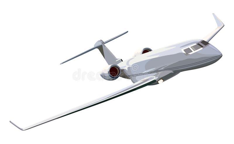 Aeroplano del getto illustrazione di stock