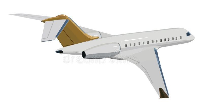 Aeroplano del getto royalty illustrazione gratis