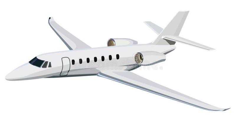 Aeroplano del getto illustrazione vettoriale