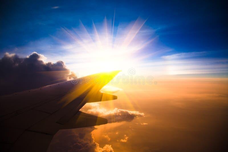 Aeroplano del jet fotografia stock libera da diritti