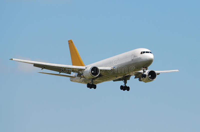 Aeroplano del jet del cargo foto de archivo libre de regalías