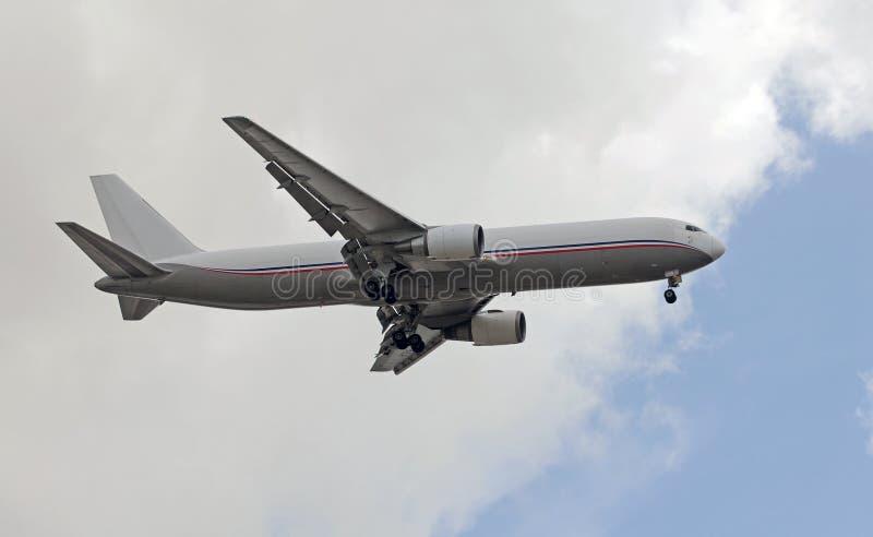 Aeroplano del jet del cargo fotos de archivo