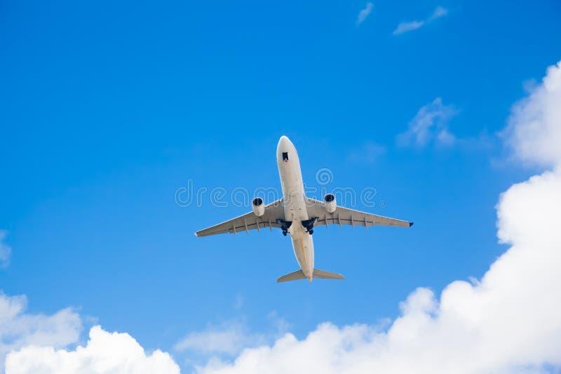 Aeroplano del pasajero imágenes de archivo libres de regalías