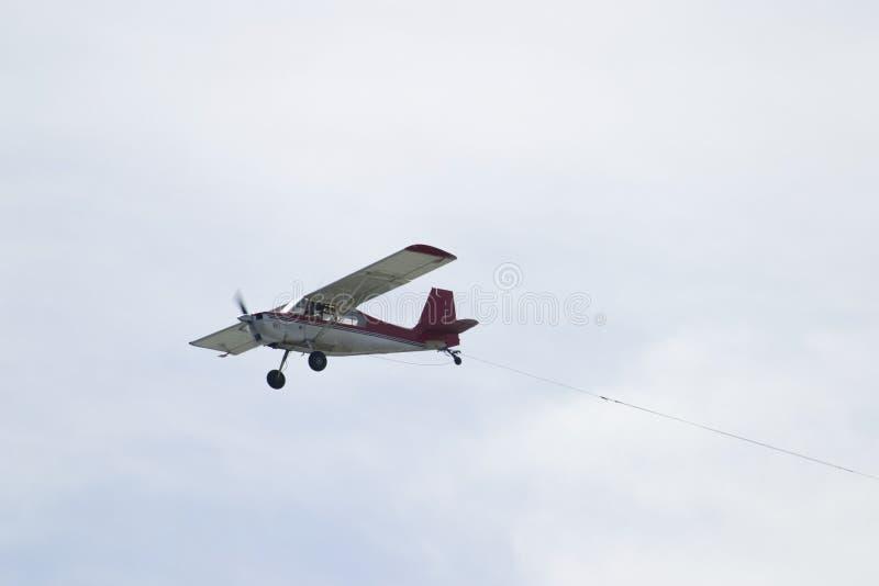 Aeroplano Del Vuelo Imagen De Archivo Gratis