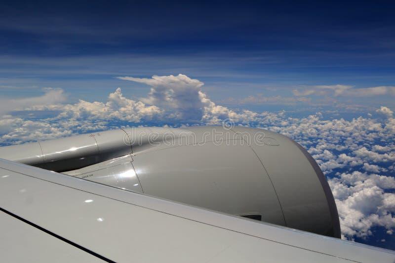 Aeroplano del vuelo imagenes de archivo