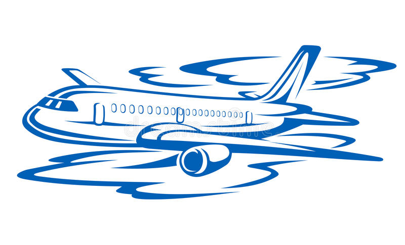 Aeroplano del vuelo libre illustration