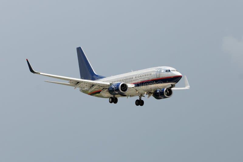 Aeroplano dell'aereo passeggeri immagine stock