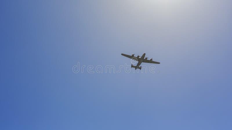 Aeroplano della forza di Stati Uniti fotografia stock libera da diritti