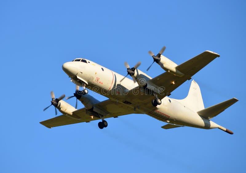 Aeroplano della marina statunitense fotografia stock