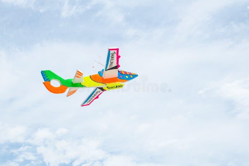 Aeroplano della schiuma immagine stock