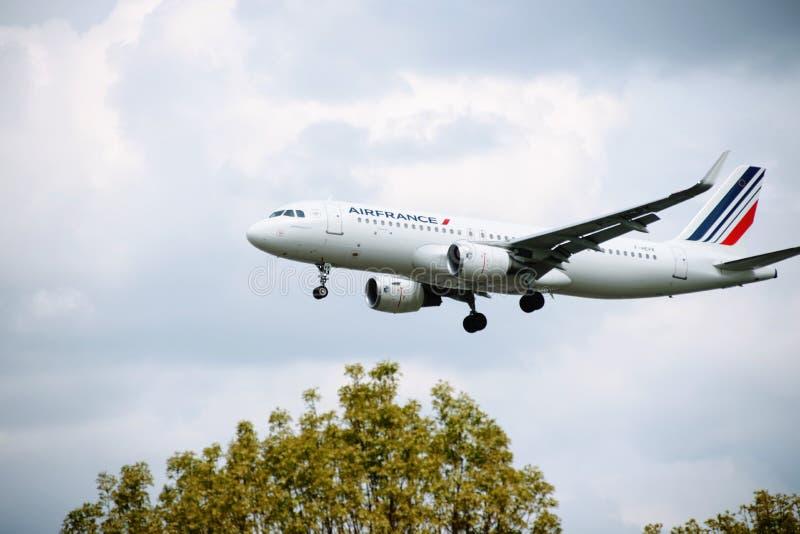 Aeroplano di AIR FRANCE fotografia stock libera da diritti