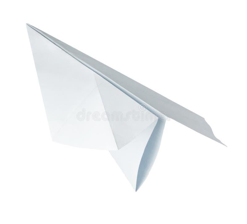 Aeroplano di carta di Origami fotografie stock