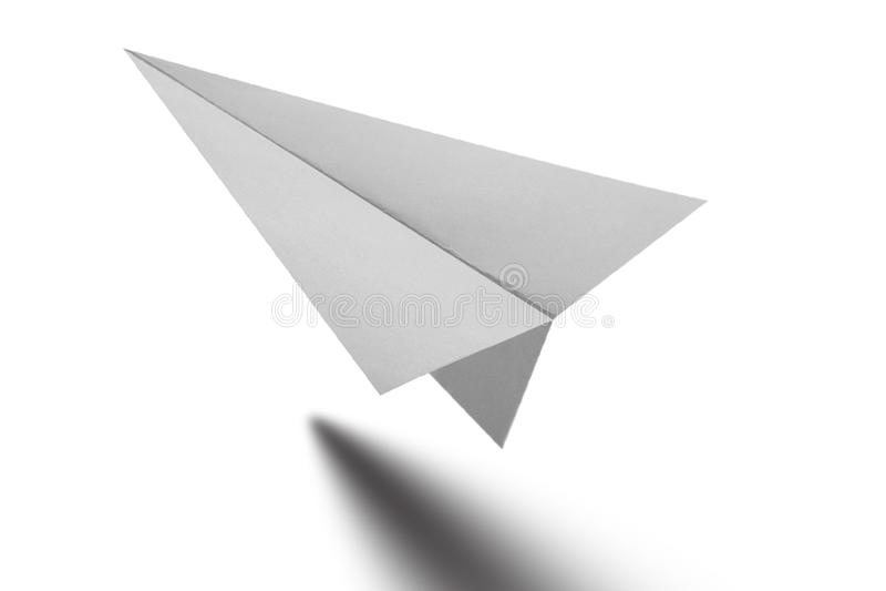 Aeroplano di carta di Origami fotografia stock libera da diritti