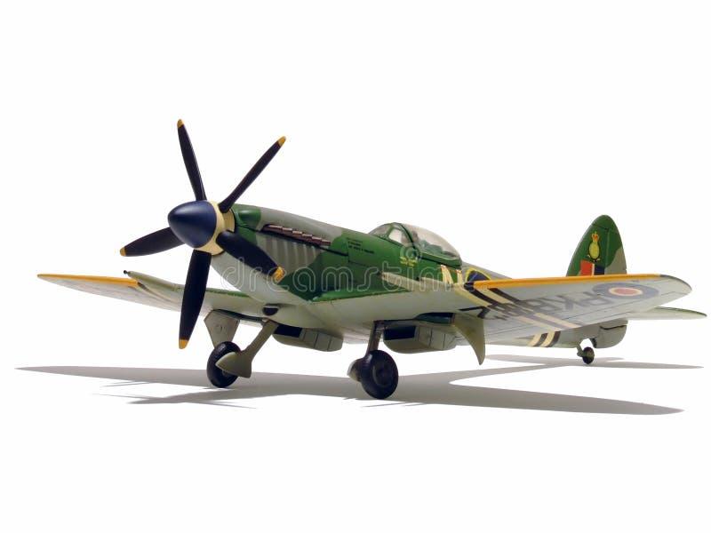 Aeroplano di modello immagine stock