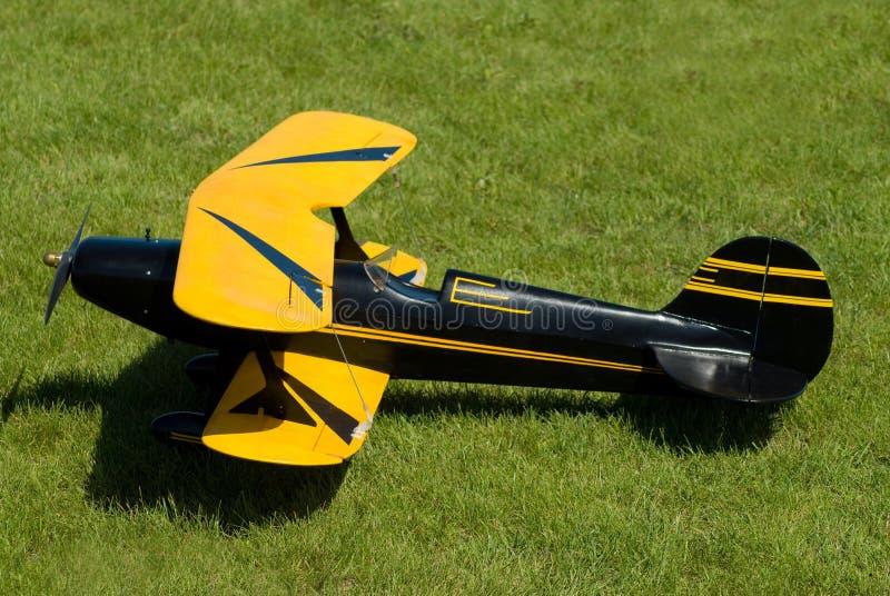 Aeroplano di modello fotografia stock libera da diritti