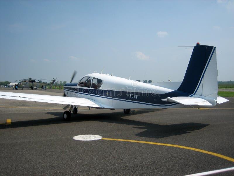 Aeroplano di turismo immagine stock libera da diritti