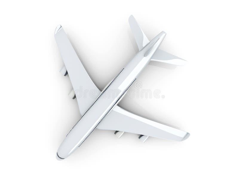 Aeroplano genérico ilustración del vector