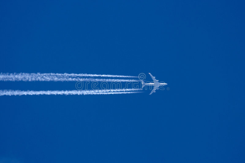 Aeroplano grande foto de archivo