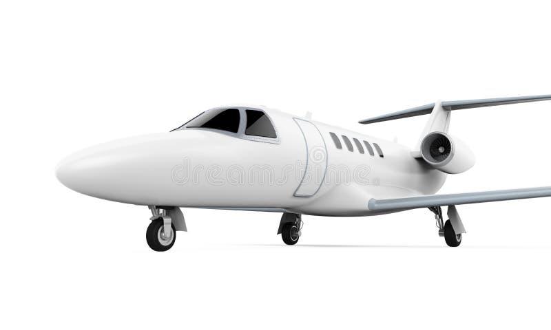 Aeroplano Jet Isolated stock de ilustración