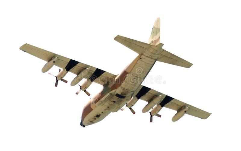 Aeroplano militare fotografia stock libera da diritti