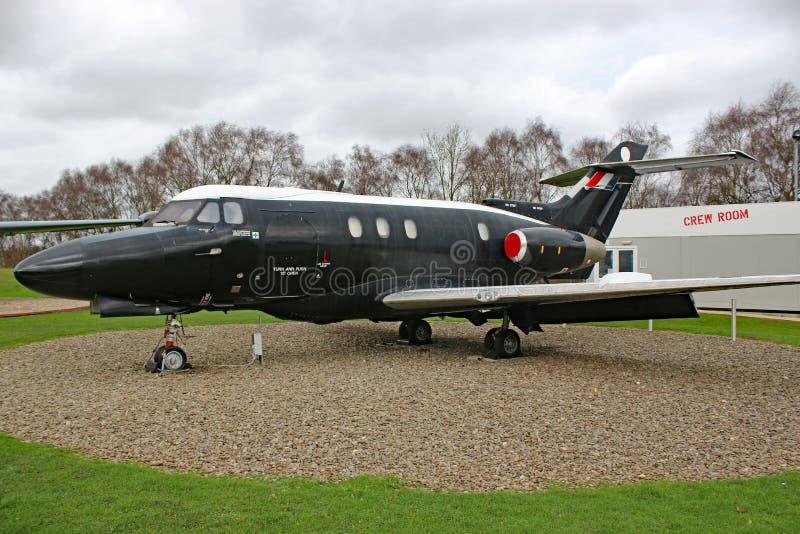 Aeroplano militare d'annata fotografie stock libere da diritti