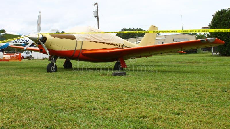 Aeroplano personal foto de archivo