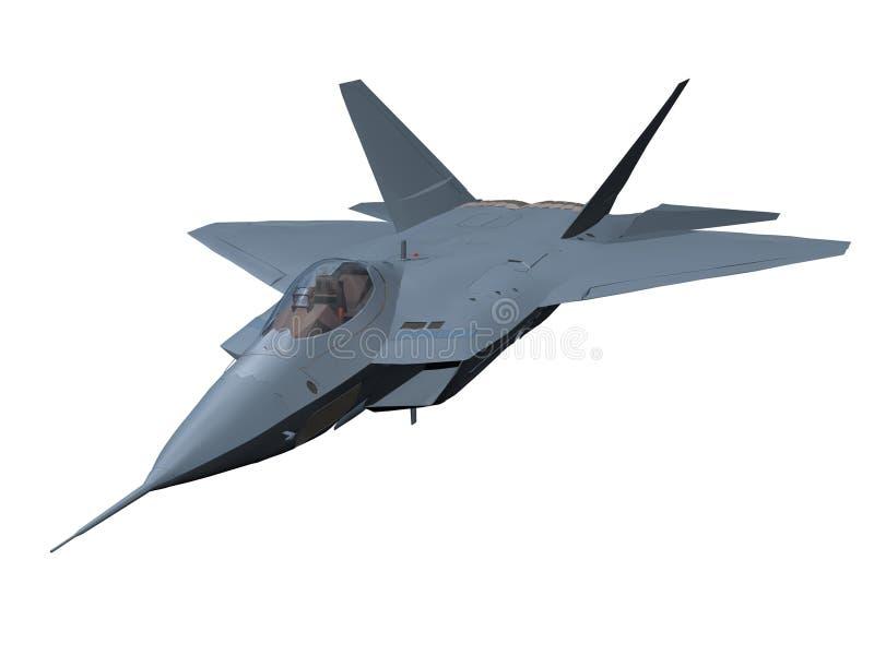 Aeroplano plano stock de ilustración
