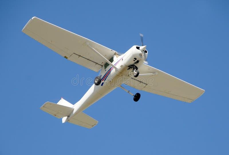 Aeroplano privato chiaro immagine stock