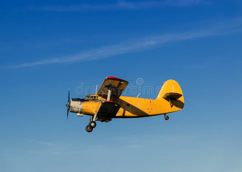 Aeroplano retro imagen de archivo libre de regalías