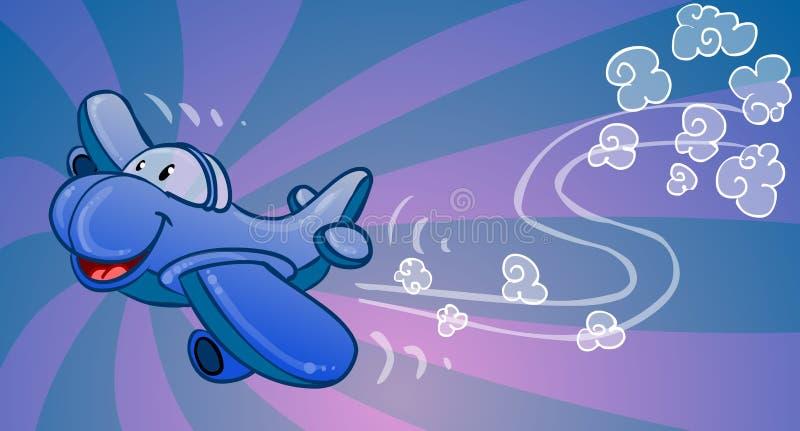 Aeroplano sveglio del fumetto