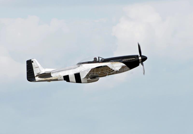 Aeroplano viejo del combatiente fotos de archivo