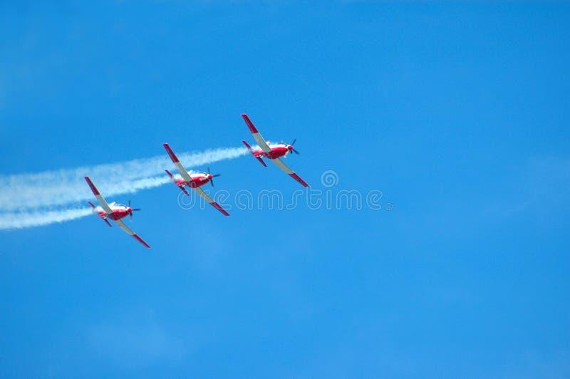 Aeroplanos fotografía de archivo libre de regalías