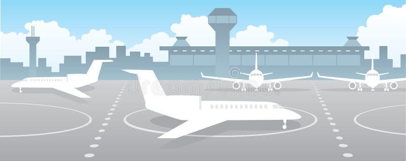 Aeroporto ilustração do vetor
