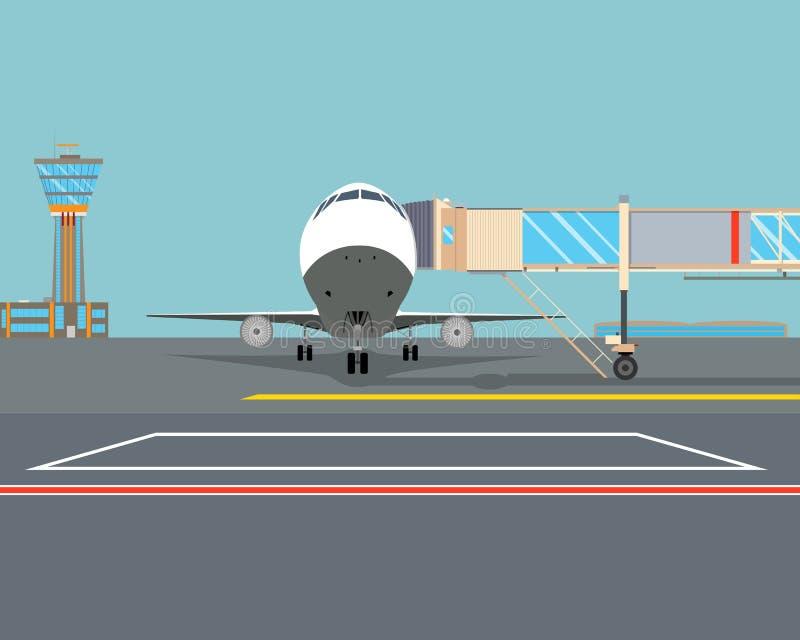 aeroporto illustrazione vettoriale