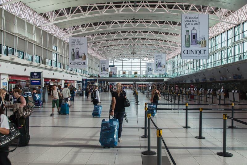 Aeroporto Buenos Aires de Ezeiza fotografia de stock royalty free