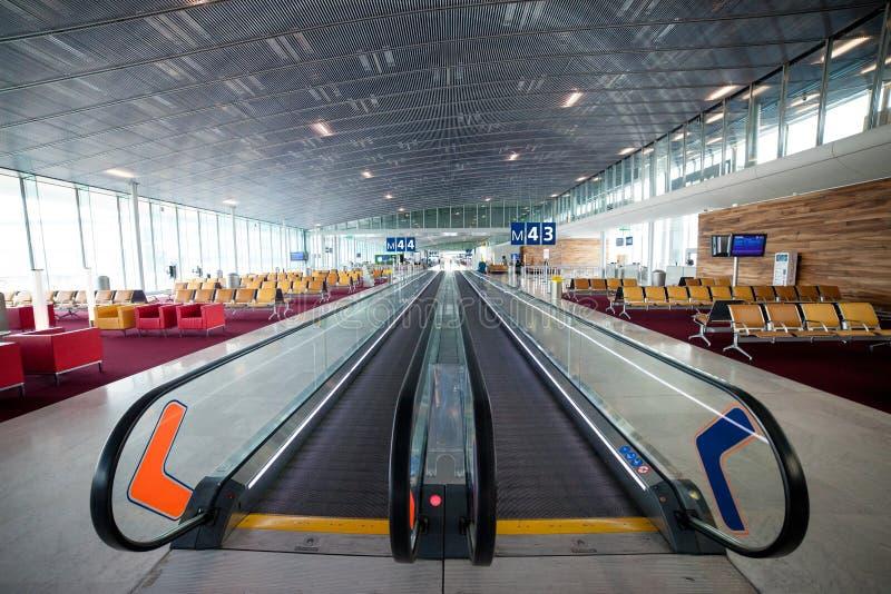 Aeroporto Charles de Gaulle - Parigi fotografia stock libera da diritti