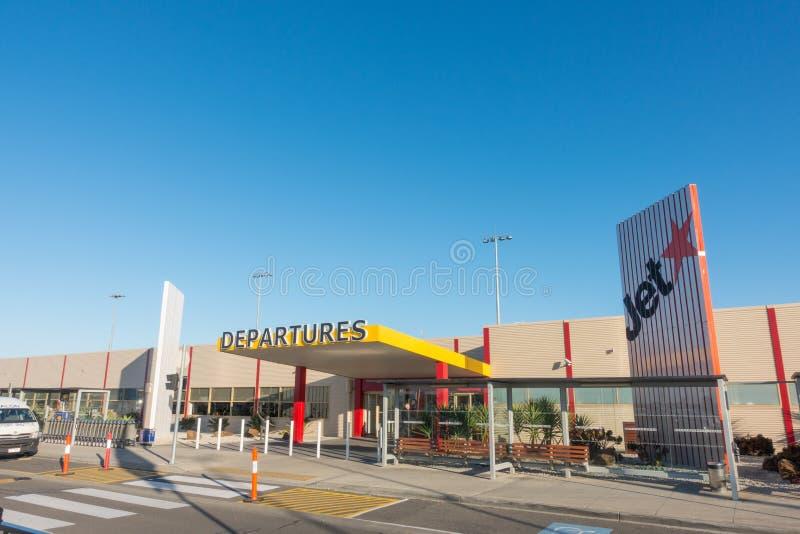 Aeroporto de Avalon, Melbourne Austrália fotos de stock
