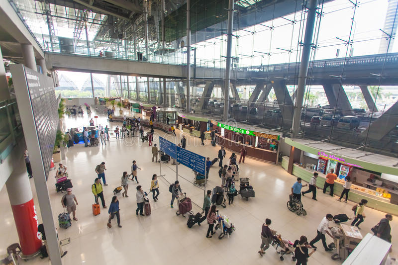 Aeroporto de Banguecoque fotos de stock royalty free