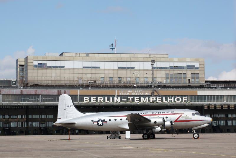 Aeroporto de Berlin Tempelhof foto de stock