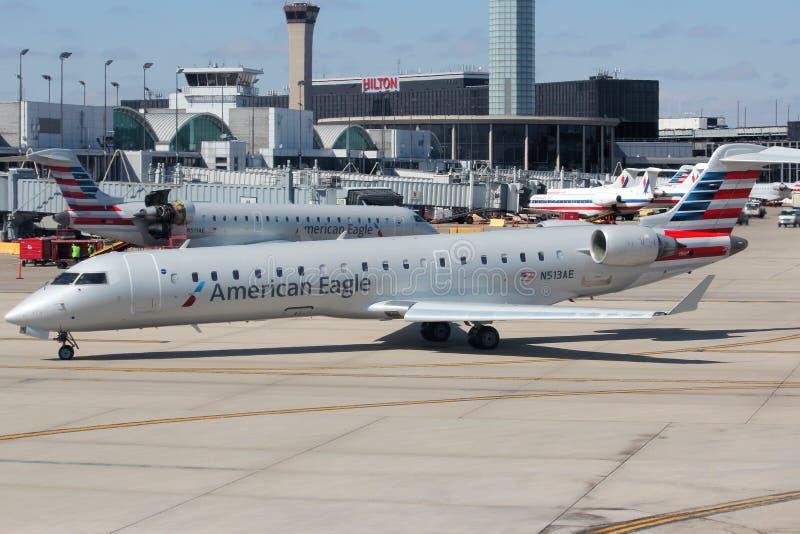 Aeroporto de Chicago O'hare fotos de stock royalty free