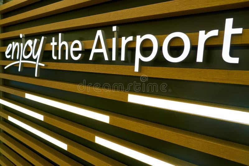Aeroporto de Dusseldorf imagens de stock royalty free
