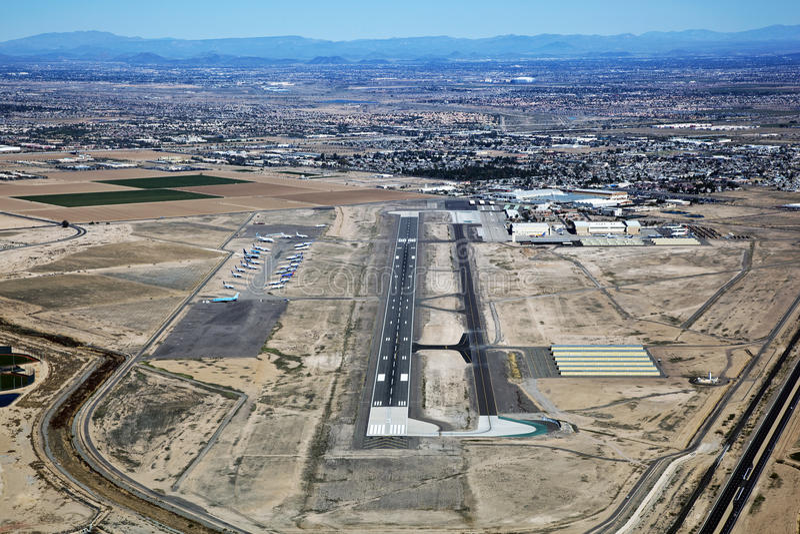Aeroporto de Goodyear fotos de stock royalty free