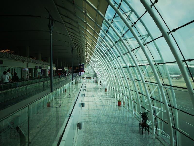 Aeroporto de Guangzhou foto de stock
