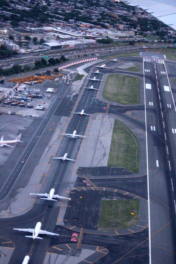 Aeroporto New York La Guardia : Aeroporto de guardia do la new york eua fotografia