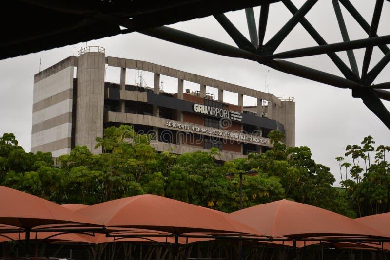 Aeroporto de Guarulhos em São Paulo imagem de stock royalty free
